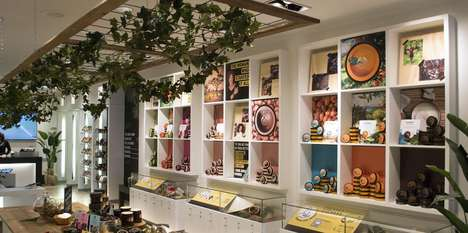 Storytelling Cosmetic Shops - The Body Shop's Pop-Up Location Connects Consumers to Product Origins
