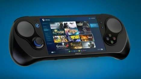 Portable Handheld PC Consoles - The 'SMACH Z' Handheld Gaming PC Runs Windows Games