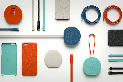Charming Smartphone Chargers - The OLKA Mobile Accessories are Infused with Style and Character