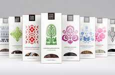 Folk-Inspired Chocolate Branding
