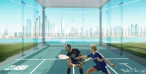 Outdoor Squash Courts - TPoint's New Design Brings the Indoor Game into the Open Air