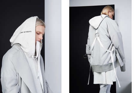 Contrasting Unisex Apparel - CGNY's 'Days/Nights' Collection Makes Use of Stark Color Differences