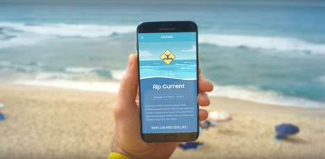 Beach Safety Apps - Surf Life Saving Australia's Pocket Patrol App Uses AI to Show Swimmers Currents