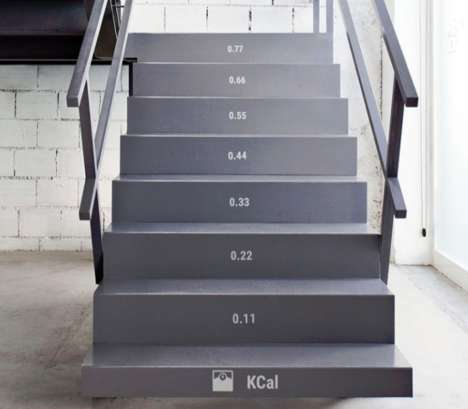 Calorie-Counting Stairs - This Staircase Aims to Promote More Physical Activity