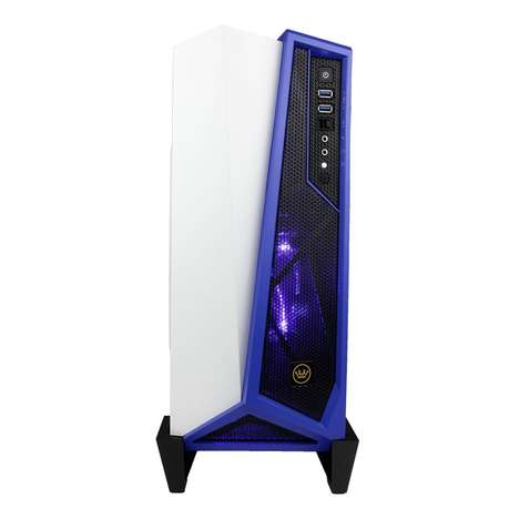 VR-Ready Custom PCs - The CUK Trion Custom Gaming PC is Liquid-Cooled and Ready for Immersive Games