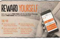 Pizza-Earning Loyalty Apps