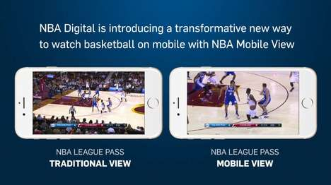 Mobile-Friendly Basketball Streams - Mobile View for NBA League Pass Tailors Games to Phone Screens