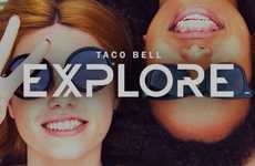 Fast Food Social Apps - Taco Bell Explore is a Puzzle Game That's Activated with Keywords & Hashtags