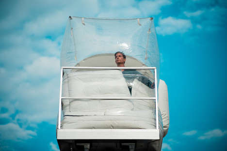 Inflatable Hotel Room Exhibits - 'Hotel Rehearsal' Satirizes the Premiums for Hotels Around NYC