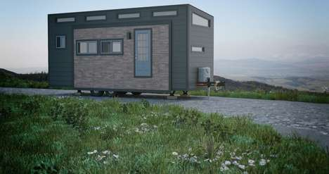 Expandable Tiny Homes - The Aurora Tiny House's Interior Can Be Enlarged At the Push Of a Button