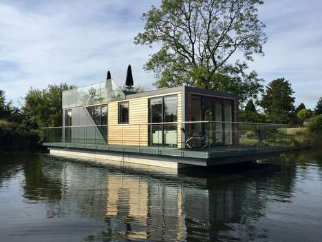 Energy-Efficient Houseboats - This Houseboat is Fitted With the Latest Home Automation Gadgetry
