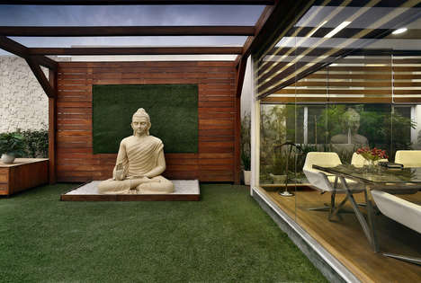 Spiritual Office Spaces - This Office is Designed to Evoke a Sense of Peace and Calm