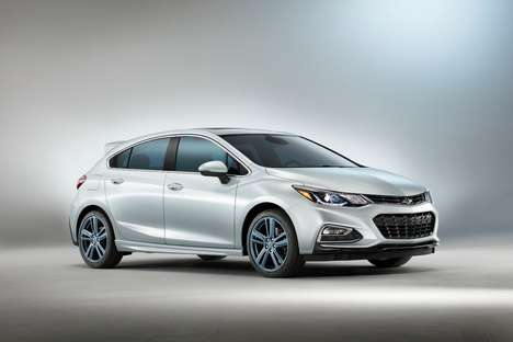 Blue-Tinted Concept Cars - The Chevrolet Blue Line Vehicles Feature Beautifully Tinted Windshields