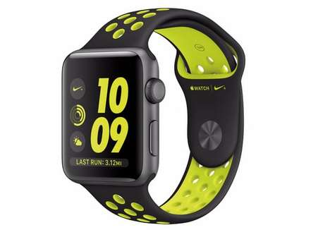 Runner-Focused Sport Smartwatches - The Apple Watch Nike+Comes With Customizable Watch Faces