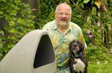 The DogeDen 60 Dog Houses Harness Cool Underground Temperatures