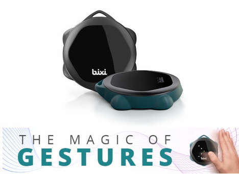Gesture-Monitoring Remote Controls - The 'Bixi' Enables Gesture Controls for the Home, Car and More