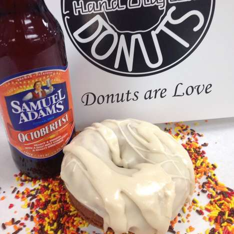 Boozy Fall-Flavored Donuts - Kane's Donuts is Serving Up Festive Donuts Inspired by Seasonal Brews