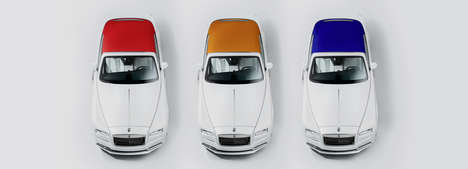 Fashion-Inspired Autos - The 'Rolls-Royce'Dawn-Inspired By Fashion' Follows Haute Couture's Palette