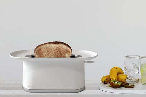 Hat-Inspired Toasters - The 'Fedora' Bread Toaster Mimics the Design Aesthetic of the Magician's Hat