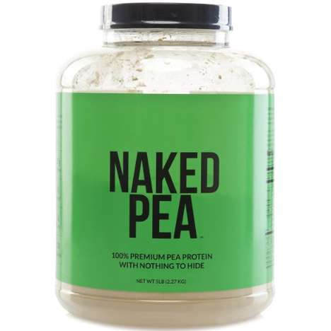 Pea Protein Powders - This Plant-Based Protein Powder is Sourced From Natural Ingredients