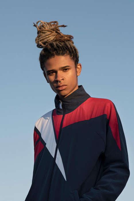 Nostalgic UK-Inspired Sportswear - The New Reebok Classic Line Incorporates the Vector Logo