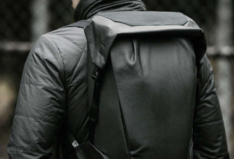 Locker-Inspired Gym Knapsacks - The RYU Locker Pack Bag Keeps Gear Organized and Accessible