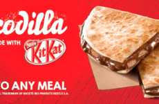 Chocolate-Stuffed Quesadillas - Taco Bell's New 'Chocodilla' Turns a Popular Entree into Dessert