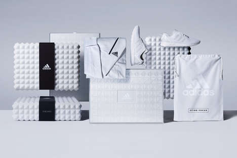 Understated Athletic Branding - This 'adidas Athletics' Packaging Aims to Eliminate Distractions