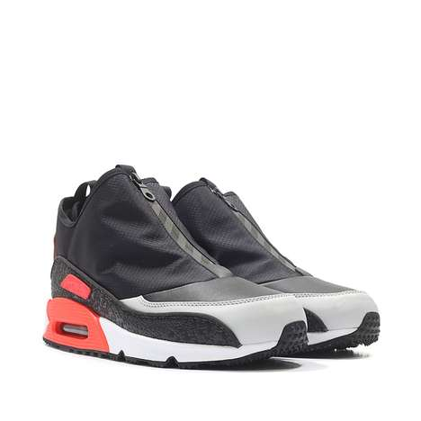 Pragmatic Sneaker Updates - The New Air Max 90s Repel Water and Feature an Accessible Zipper Closure