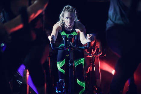 Luminous Workout Suits - This Set of Under Armour Activewear Boasts Glow-in-the-Dark Properties