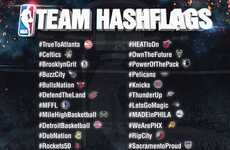 Basketball Team Emojis - Twitter is Releasing a Special Set of NBA Team Emojis Pair with Hashtags