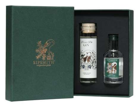 Christmas Pie-Flavored Spirits - This Seasonal Sipsmith Gin Comes in a 'Mince Pie' Variety