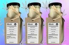 Cannabinoid Seed Milks - Rawligion's Non-Dairy 'Relax' Milk is Infused with CBD Oil