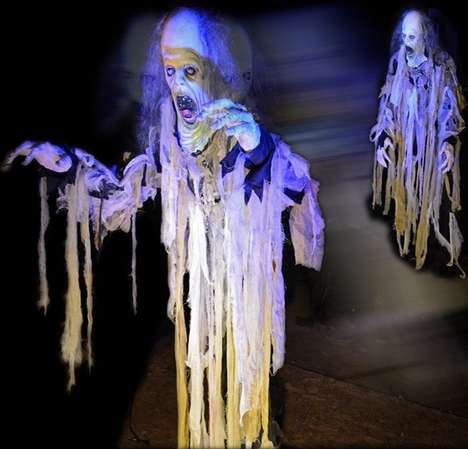 Animatronic Ghost Decorations - The 'Ghost Flyer' is a Terrifying Halloween Decoration