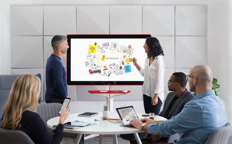 High Definition Digital Whiteboards - The Google Jamboard Modernizes Workspace Collaboration