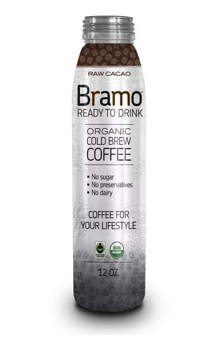 Cacao-Infused Cold Brews - This Bramo Beverage Combines Cold Brew Coffee and Raw Cacao