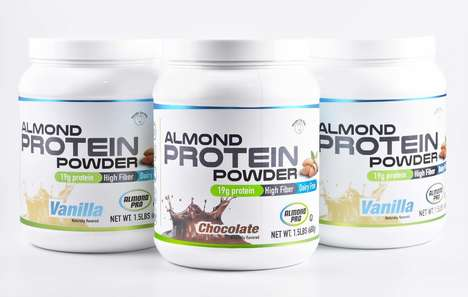 Almond Protein Powders - Almond Pro's Protein Powder Boasts Minerals and Vitamins from Real Almonds