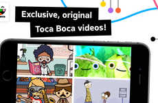 'Toca TV' Introduces Exclusive Videos and Recording Tools from Toca Boca