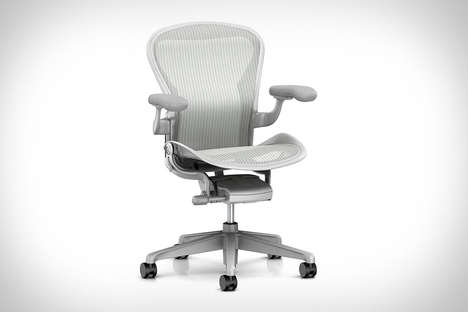 Versatile Support Office Seats - The Herman Miller Aeron Remastered Chair Ensures Ergonomic Support