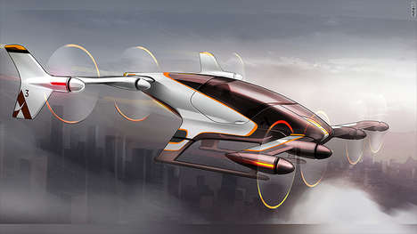 Airborne Autonomous Taxis - The Airbus 'Vahana' Flying Taxi Aims to Take Cab Services to the Skies