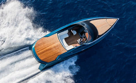 Luxury Boat Collaborations - The AM37 by Quintessence Yachts is the Epitome of Design and Speed