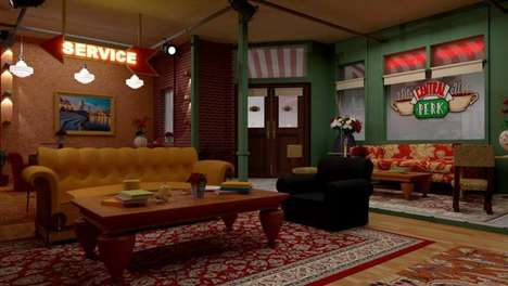 TV-Themed Membership Cafes - 'Central Perk SG' is Modeled on the Iconic Coffee Shop from 'Friends'