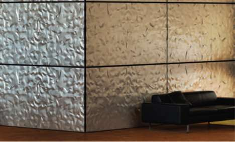 Affordable 3D Wall Treatments - MDC's Dimension Walls Add a Unique Focal Point to Any Room