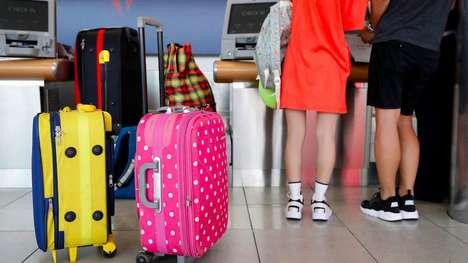Real-Time Luggage Trackers - The New Delta Airlines Baggage Tags Ensure Bags Never Go Missing