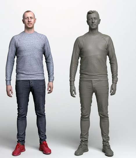 Photo-Realistic 3D Avatars - Metapixel's Image Capturing System Creates Incredibly Lifelike Avatars