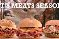 Marinated Deer Meat Sandwiches - Arby's is Selling a Venison Sandwich at Select Locations This Fall
