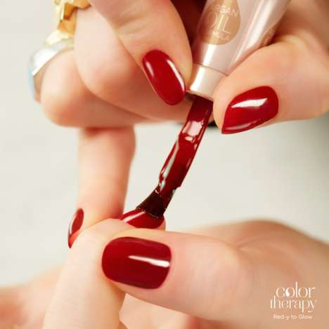 Restorative Nail Polish Treatments - Sally Hansen's Color Therapy Nail Polish Range Soothes Nails