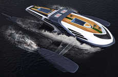 Submerging Luxury Yacht Designs