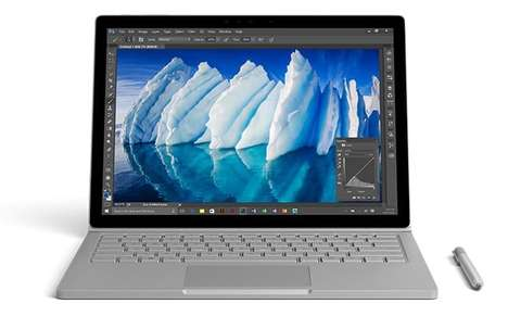 Fine-Tuned Performance Laptops - The Microsoft Surface Book i7 PC Laptop Provides 16-Hours of Use