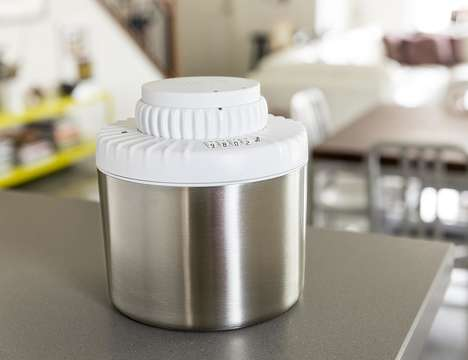 Secure Marijuana Storage Jars - The 'SneakGuard CombiFresh' Ensures Bud Freshness and Security